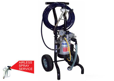 Atomex Gm-20E Airless Paint Sprayer *25 Month Warranty*free Del*