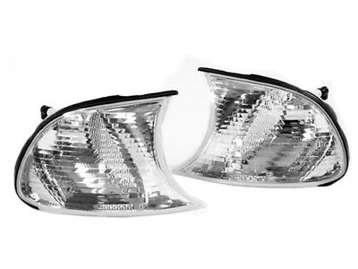 Crystal Clear Screw-In Type Corner Lights for 02-03 BMW E46 2DR / 02-06 M3
