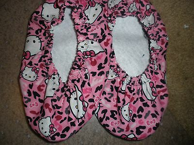 Hello Kitty Print Bowling Shoe Covers-Pink Animal Print