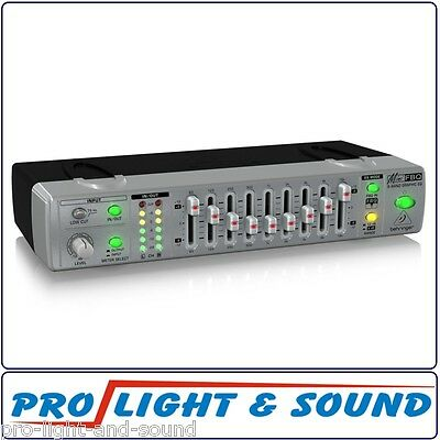 Behringer FBQ800 Compact 9-Band Graphic Equalizer with FBQ