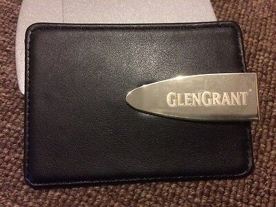 *BRAND NEW* Genuine GLENGRANT Leather Money Clip And Card Holder