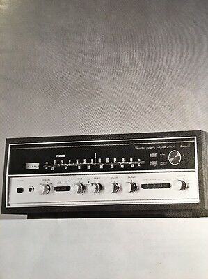 "Sansui 2000A Stereo Receiver ""Original Vintage"" Owners Manual 20 Pages Rare A16"