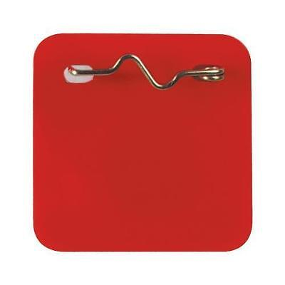 Recreational Pass With Pin Red, Package Of 100