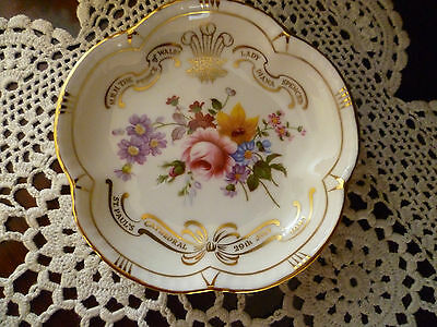 Collectable Royal Crown Derby Posies Lady Di And Prince Charles Made In England