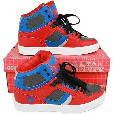 Osiris Optimus Prime Limited Edition Transformers Skate Shoes Size 6 US