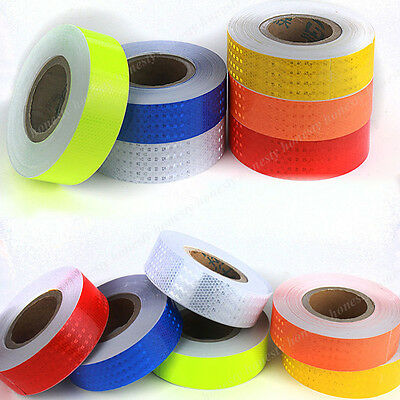 Car Truck Reflective Safety Warning Conspicuity Tape Film Sticker 30CM 3M 5M