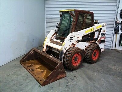 Bobcat S160 Air-conditioned Low Hour Skid Steer Loader -924