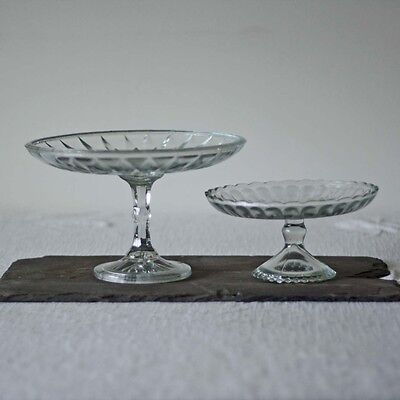 1 x Single Tier Glass Cake Stand | Candy Buffet Dessert Tables At Weddings