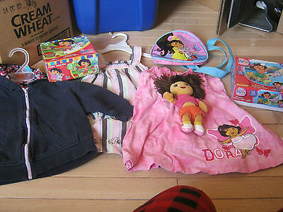 Girls Clothes Size 2 Plus Dora The Explorer Items