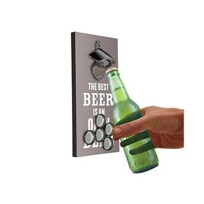 Beer Bottle Opener and Magnetic Top Catcher – cap fridge