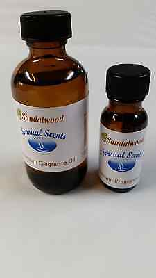 Sandalwood Fragrance oil. Sensual Scents for candles soaps and diffusers