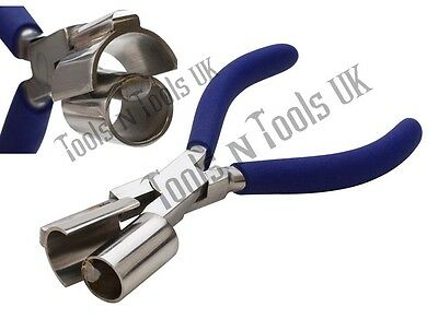 """Quality Ring & Bracelet Pliers Round/ Half Round 3/4"""" Bending Curving Jewellery"""