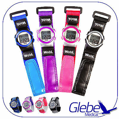 The WobL Watch - Children's 8-Alarm Vibrating Watch