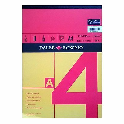Daler Rowney Red & Yellow Sketch Pad - A4 Gummed