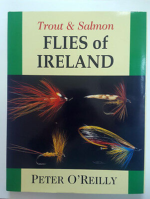 Trout & Salmon Flies of Ireland by Peter O'Reilly - Fishing Books/Gifts