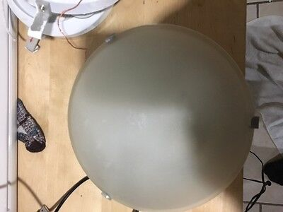 6 Hanging single bulb fixture with glass(4 have glass)