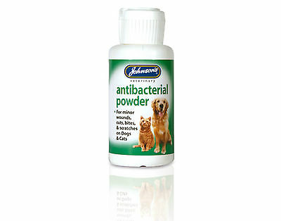 Johnsons AntiBacterial Powder For Cats And Dogs
