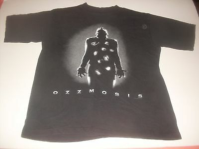 "Ozzy Osbourne ""ozzmosis"" made in USA rock tee-shirt size Large"