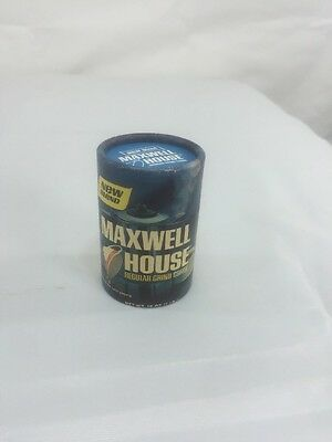 Vintage Maxwell House Coffee Advertising Matchbox Book with Striker/ Miniture