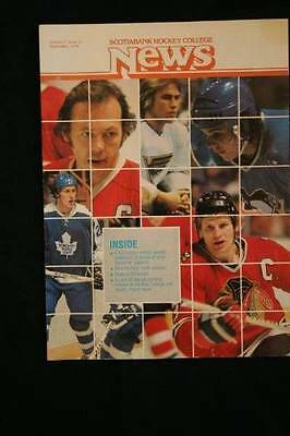 Wayne Gretzky Entering WHA!!  Rare Scotiabank Hockey College News Issue -1978