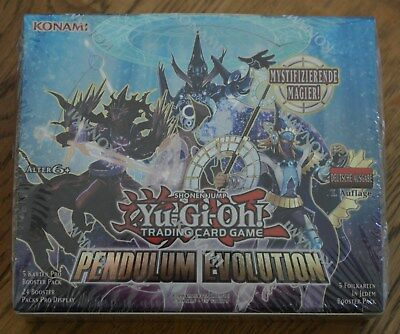 Yu-Gi-Oh! Pendulum Evolution 24 Booster Display Deutsch 1. Auflage Neu & OVP