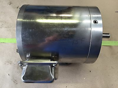 Marathon Electric .75 HP Model 56T17VD5327 Stainless Steel Motor