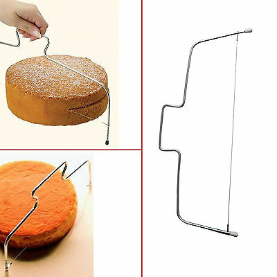 Adjustable Wire Cake Slicer Cutter Leveller Decorating Bread Wire Decor Tool