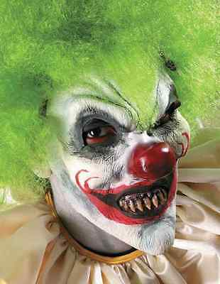 Krazy Klown Evil Killer Clown Dress Up Halloween Costume Makeup Latex Prosthetic