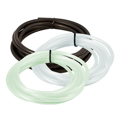 8' Aquarium Silicone Air Line Tubing for Fish Tank Air Pump Hydroponic