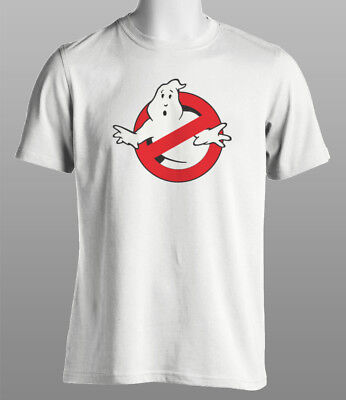 Ghostbusters Classic 80's Retro White T Shirt