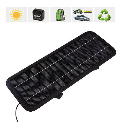 2015 Multi Portable Solar Panel Power Battery Charger 12V 5W RV Car boat
