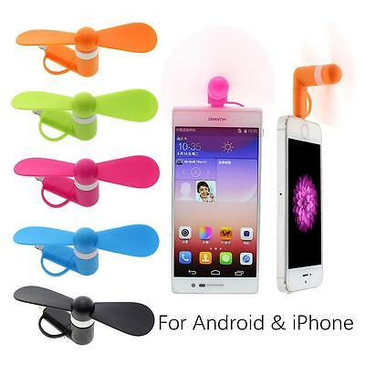 Portable Mini Cooling Fan Micro USB Mobile Phone Small Power For Android iPhone