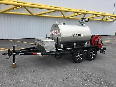 Fuel Trailer 500 Gallon Jet A Refueler
