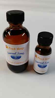 PeachMango fragrance oil Sensual Scents for candles, soaps and diffusers.
