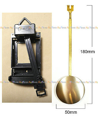Movement Cover & Pendulum Repair Parts for Wall clock