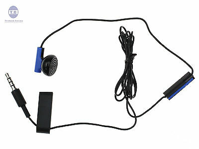 NEW Headset Earbud Microphone Earpiece Clip for Sony Playstation 4 PS4
