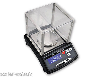 MY WEIGH iBALANCE 201 PRO DIGITAL TABLE TOP BENCH LAB SCALES - 200g x 0.01g