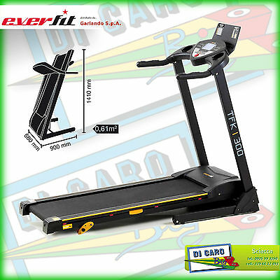 Tapis Roulant Everfit Tfk 300 Manuale By Garlando Per Palestra Corsa Fitness