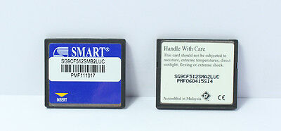 SMART 512MB CompactFlash CF Compact Flash 512M Printer CNC Router memory card
