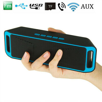 Portable Bluetooth Speaker Wireless Stereo Mini for iPhone iPod Samsung iPad FM