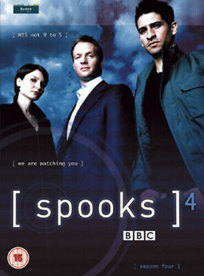 SPOOKS COMPLETE SERIES 4 DVD Season Brand New Sealed UK Release 4th Fourth