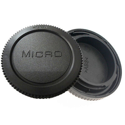 Rear Lens Cover + Camera body Cap fit for Panasonic Lumix DMC-GF1 Micro 4/3 M4/3