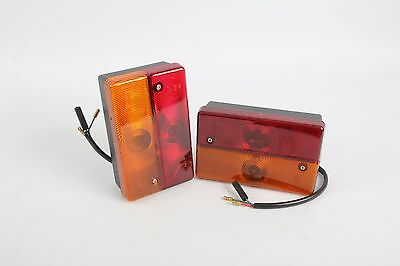 BACKHOE LOADER REAR LIGHTS FOR JCB P9 - KITRLIGHTP9 | 700/23600 x 2
