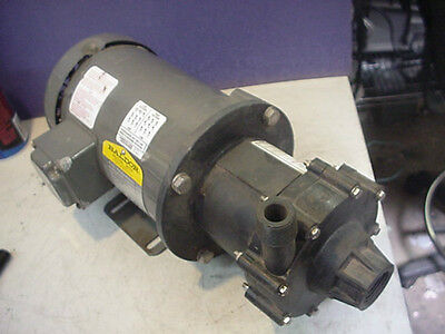 New Warrender promag magnetic drive centrifugal pump 1/3hp 3ph M5.5N1BPTW FTI