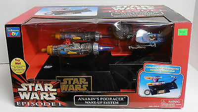 1998 Star Wars Episode I Anakin's Podracer Wake-up System by Thinkway NIB