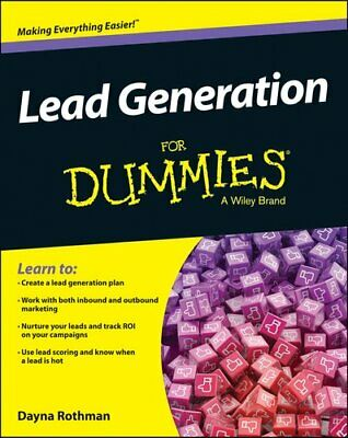 Lead Generation For Dummies(R) by Dayna Rothman 9781118816172 (Paperback, 2014)