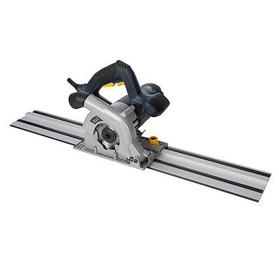 GMC 1050W Compact Plunge Saw & Track Kit 110mm