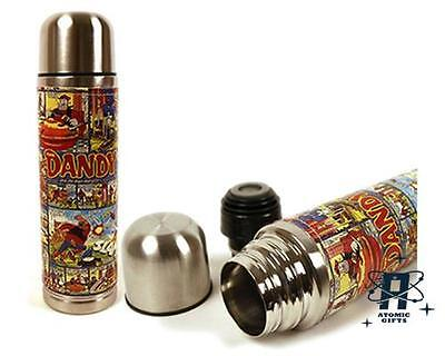 New Retro Vintage Dandy Comics Storyboard Stainless Steel Thermos Flask 500Ml