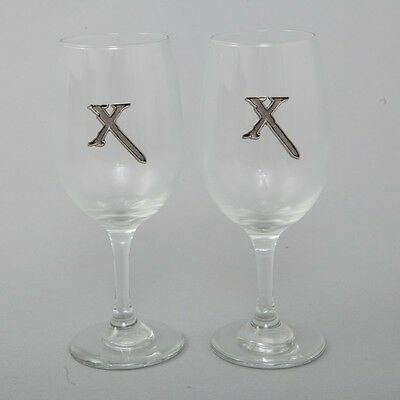 Fantastic! Xena: Warrior Princess Set of 2 White Wine Glasses Official Product