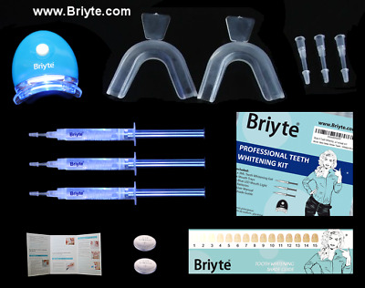 Briyte ® Professional Teeth Tooth Whitening Bleach Kit Light 0.1% PEROXIDE